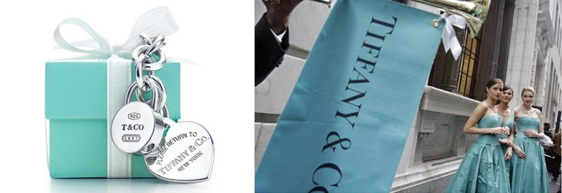 Tiffany Blue - trademark colour