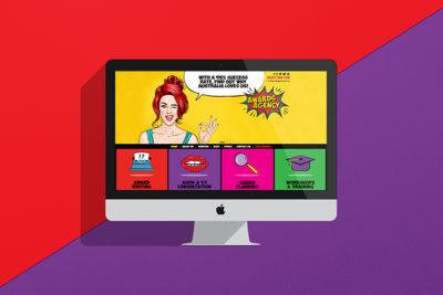 Awards agency award winning website design